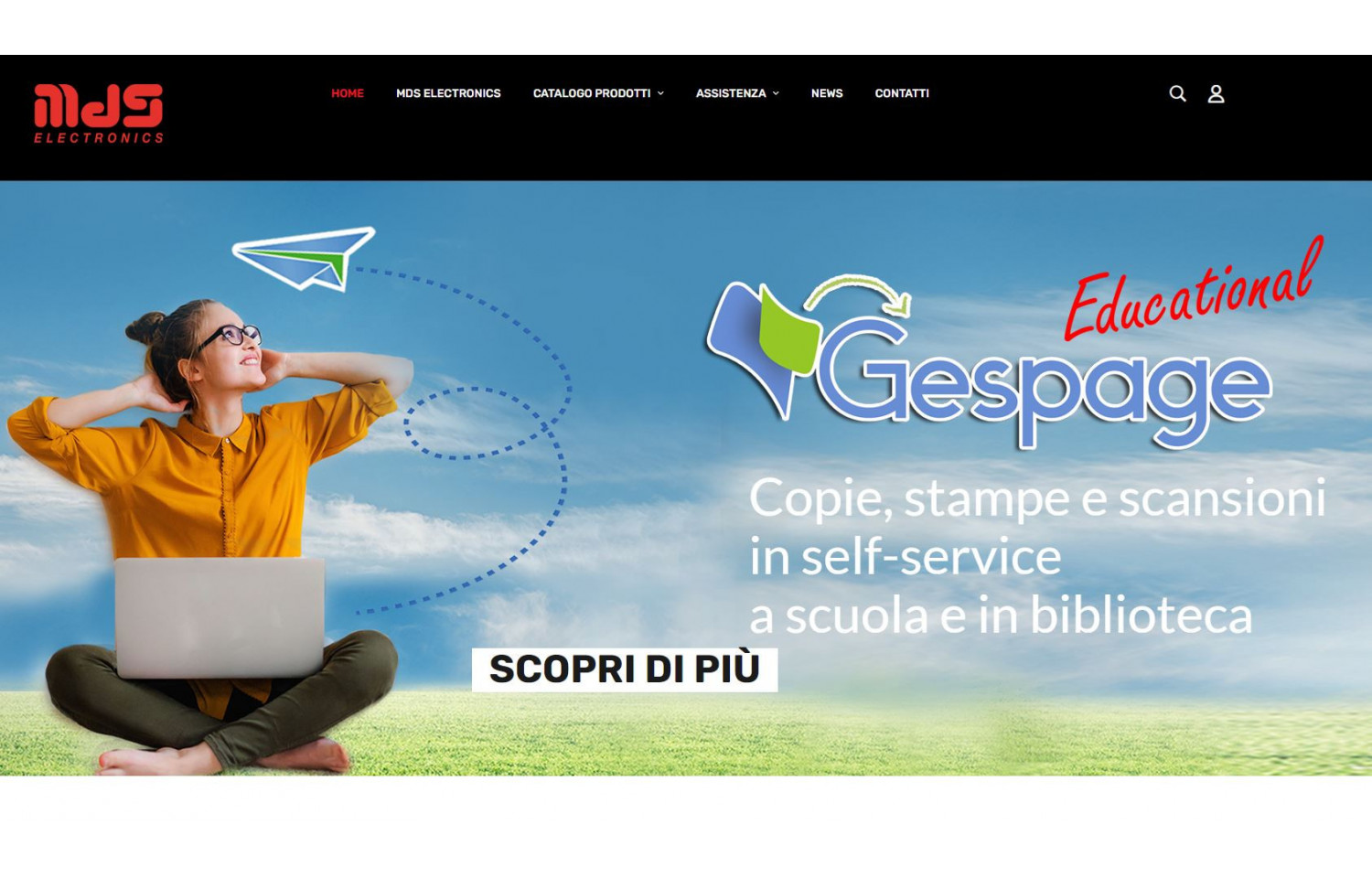 Nuovo sito MDS Electronics - ONLINE!